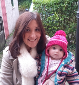 Hayley with daughter Orla